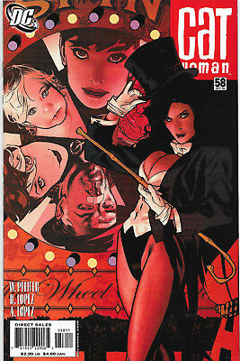 Catwoman (Vol.3) #58 DC Comics Adam Hughes Cover NM-