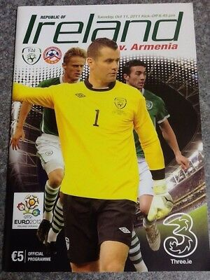 Republic of Ireland v Armenia - 2012 European Championship Qualifier 11Oct11