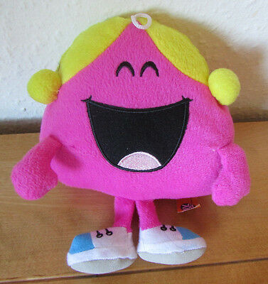 Fab *little Miss Chatterbox* Plush Soft Toy Ty - Mr Men