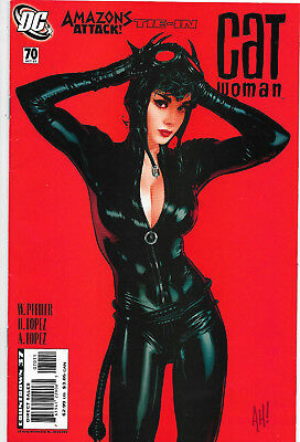 Catwoman (Vol.3) #70 DC Comics Adam Hughes Cover NM-