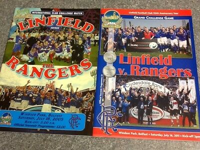 Linfield v Rangers - Friendly Matches 16July05 & 16July11