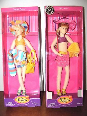 Only Hearts Club Dolls~Lot Of 2~Lily Rose~Katrina Grace~New In Box