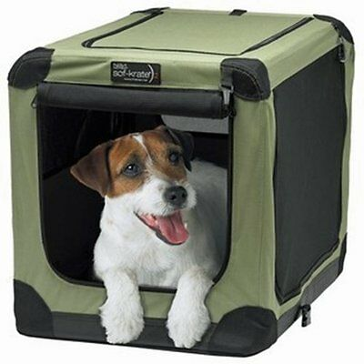 Pet Carrier Sof-Krate Indoor/Outdoor Pet Home, 26-Inch, for Pets Up to 30-Pound