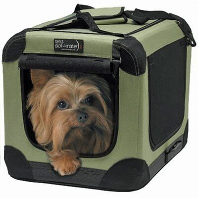 Pet Carrier Sof-Krate Indoor/Outdoor Pet Home, 21-Inch for Pets Up to 15-Pound