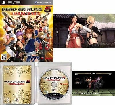 DEAD OR ALIVE DOA 5 Japan Fighting Anime Game KOEI Ultimate SONY PS 3 PS3 Mint