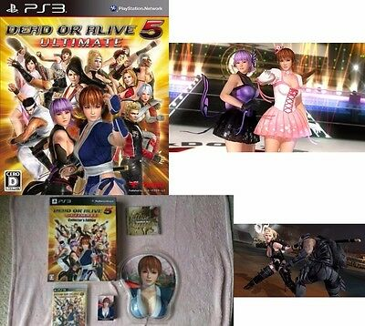DEAD OR ALIVE DOA 5 Japan Game KOEI Ultimate Collector's Edition SONY PS 3 PS3
