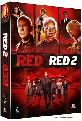 DVD - RED + RED 2 - Bruce Willis,Mary-Louise Parker,Robert Schwentke,Dean Pariso