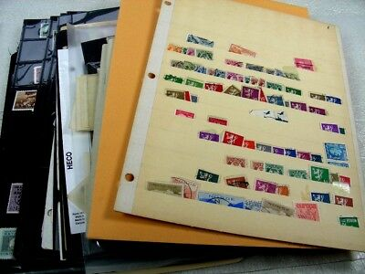 US, SAN MARINO, NORWAY, MEXICO &, Excellent Accumulation of Stamps in stock shee