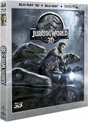 Blu-ray - Jurassic World [Blu-ray 3D & 2D + Copie digitale] - Chris Pratt,Bryce