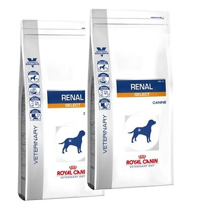 2x 10kg ROYAL CANIN  Renal Select Canine RSE 12 Veterinary Diet Hund von BRAVAM