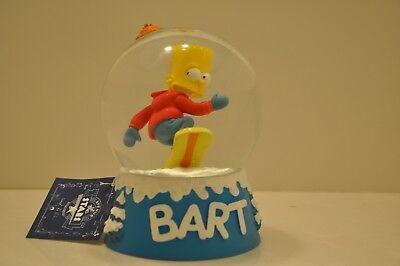 "RARE SIMPSONS- 2001 BART SIMPSON ""SNOWGLOBE"" by AVE of the STARS TROPICO/ FRANCE"