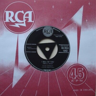 Elvis Presley, I Beg Of You / Don't, Tri Rca, 7Inch 45Rpm