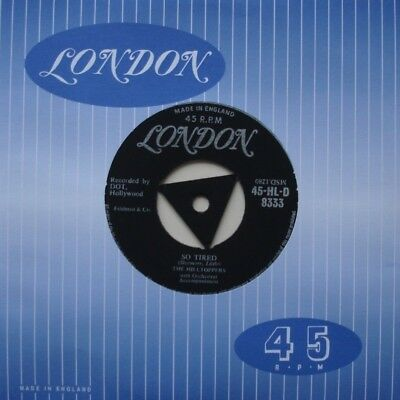 Hilltoppers, So Tired / Faded Rose, Tri London, 7Inch 45Rpm