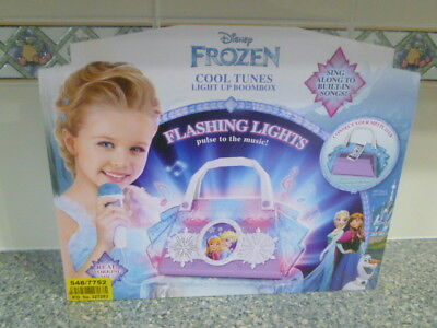 Disney Frozen Cool Tunes Singalong Boombox Toy for 3 years plus