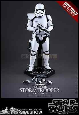 Star wars EP.VII squad leader Stormtrooper figure Hot Toys SideShow exclusive