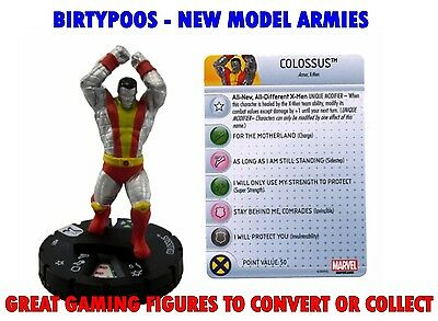 Marvel Heroclix Uncanny X-Men #1 Colossus NEW with CARD Cyborg