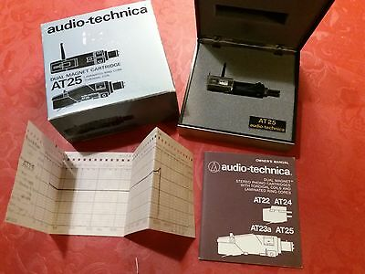 Audio-Technica At-25  Dual Magnet Cartrige