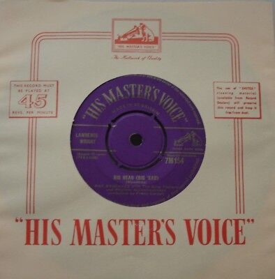 Max Bygraves, Big Head / Say Si Si, Gold Hmv, 7Inch 45Rpm