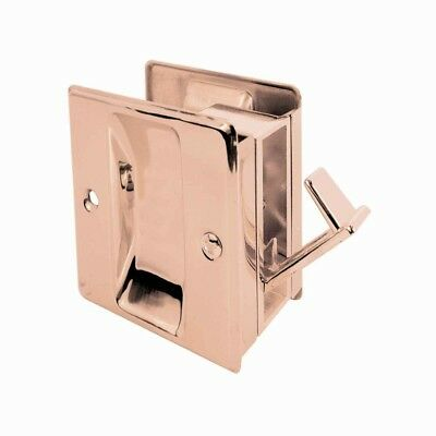 Pocket Door Combination Pull Mortise Design Solid Brass Recessed Grips Pull Hook