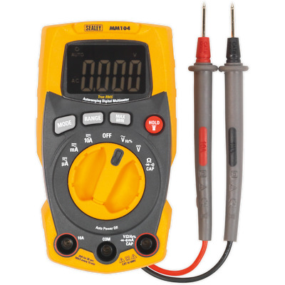 Sealey MM104 Professional Auto-Ranging Digital Multimeter