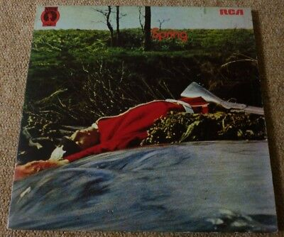 Spring, Very Rare Self Titled 1971 Uk Neon Record Label Lp In Tri-Fold Sleeve