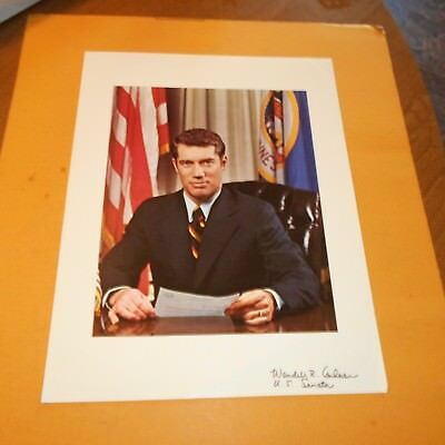 Wendy Anderson was an American politician Hand Signed Photo 33rd governor of MN