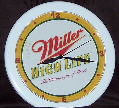 Miller High Life Beer Sign Wall Clock!