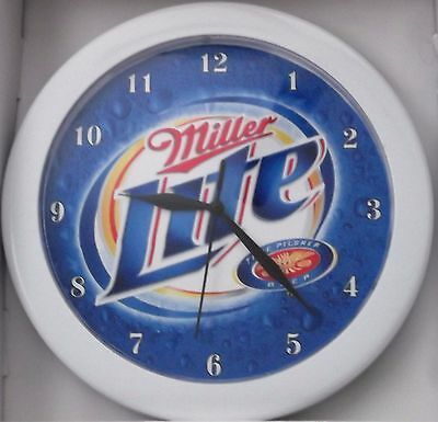 Miller Lite Beer Sign Wall Clock
