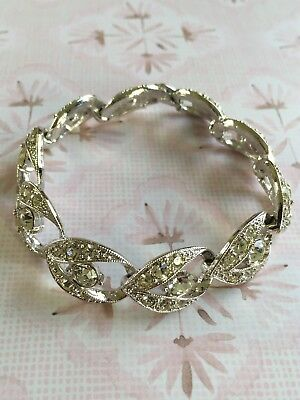 Vintage 1960's Sarah Coventry Enchantress Rhinestone Bracelet
