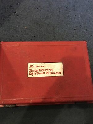 Snap On Digital Inductive Tach/dwell Multimeter