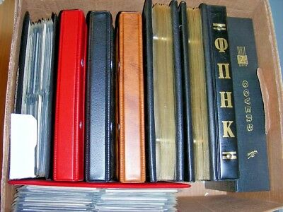 US, GREECE, 100's of COVERS in 9 Showgard & other binders
