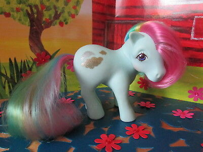 Fab Rare Vintage Hasbro 1983 G1 *sunlight* Rainbow My Little Pony