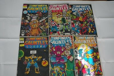 The Infinity Gauntlet 1-6 (1991) - Marvel