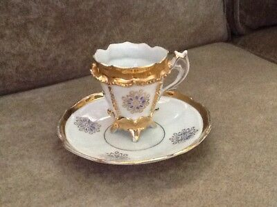 Delicate Cup And Matching Saucer