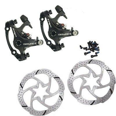 TRP Spyre - C Alloy Mechanical Disc Brake Caliper Front/Rear/Pair w/ 160mm Rotor