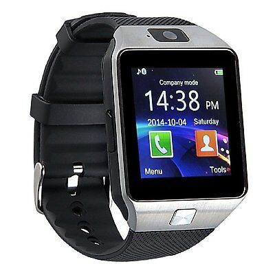 Reloj Inteligente Bluetooth 3.0 Cámara Tarjeta SIM  Android iOS Smart Watch