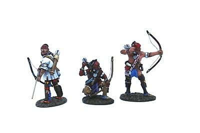 JOHN JENKINS DESIGN WIM-01 Woodland Indians with bows, Skirmishing toy soldiers