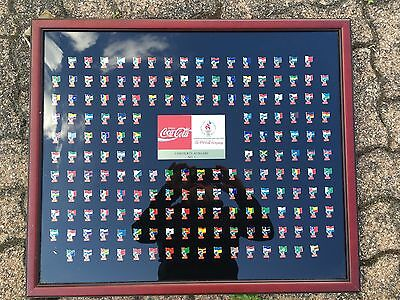 176 X Flag Pin Series Collection Coca-Cola Atlanta 1996 Olympic Games