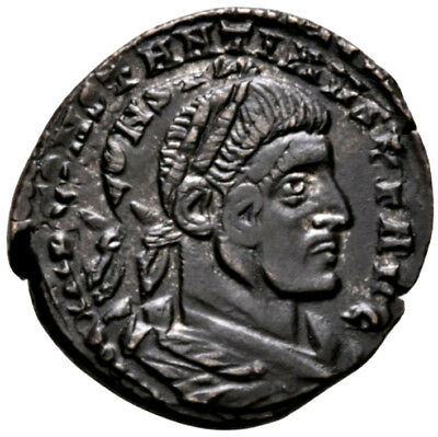CONSTANTINE THE GREAT (312 AD) Rare Follis. Rome Sol #MA 9350