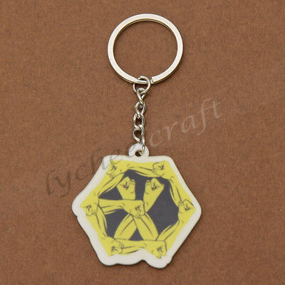 EXO Keychain Fashion Kpop Group Fans Collections Acrylic Accessories Gifts 1 Pc