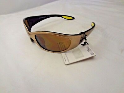 Rawlings Youth 108 Black Sport Sunglasses Full Rim Wrap Baseball Softball 3-1821