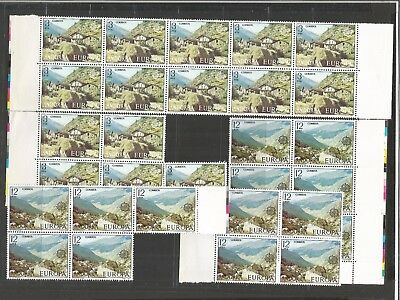 WED 228 Andorra - Spanish Andorre Espagnole 1977 + 1989 mixed years MNH stamps $