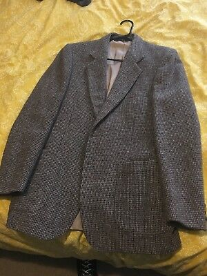 Vintage 1950's Harris Tweed Blazer! Rockabilly retro vintage! 36/38