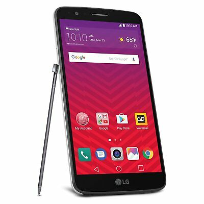 LG Stylo 3 Android 16GB LTE for Virgin Mobile with Free Accessory Bundle