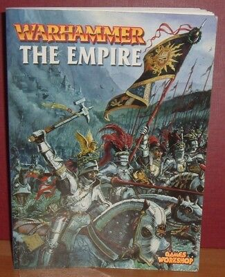 WARHAMMER. THE EMPIRE by Alessio Cavetore. Paperback. 2000.Games Workshop.
