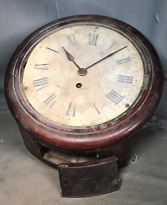 Antique Faux Fusee Mathias Bauerle PEERLESS Gallery Clock Depot Black Forest OLD