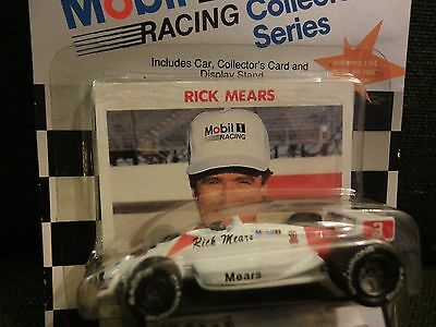 1991 Racing Champions 1:64 Mobil 1 Racing Collector Series Rick Mears #3 sealed!