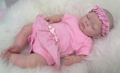 Alexandra, REBORN BABY GIRL, very cute CHILD FRIENDLY NEWBORN DOLL fake babies
