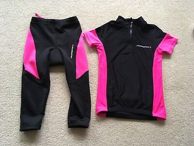 Girls Cycling Jersey And Shorts 7-8