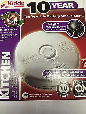 Kidde P3010K-CO Battery-Operated Combination Carbon Monoxide and Smoke Alarm
